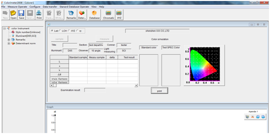 colorimeter software
